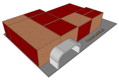 Kit Compact Vue lit